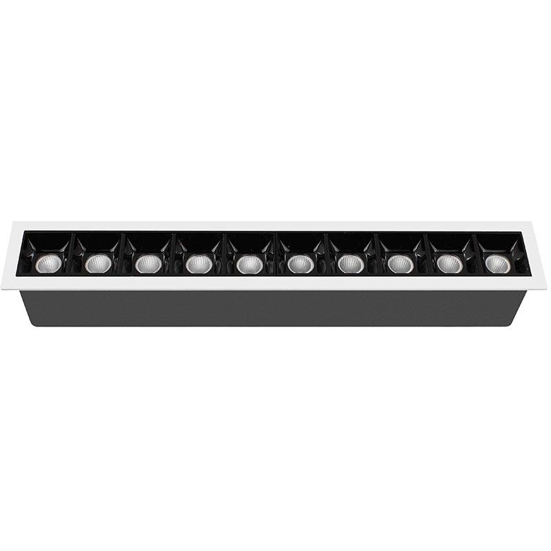 LED down light/grille light 207015-10 MAX 20W