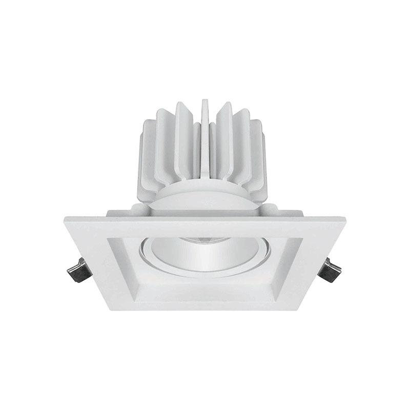 Seity Brand led lights antiglare recessed adjustable led downlights square