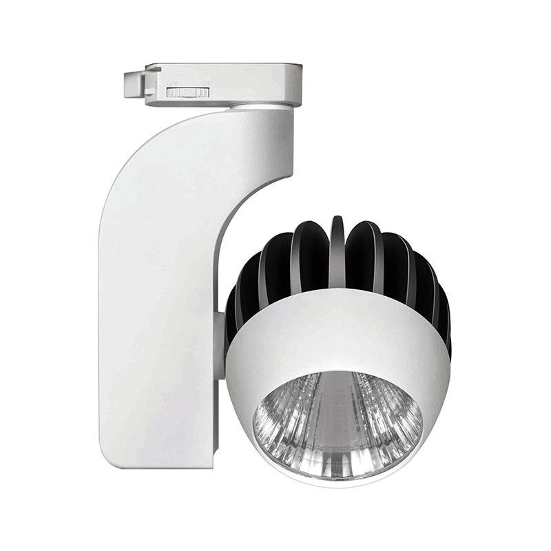 Round LED track light 333201 MAX 30W