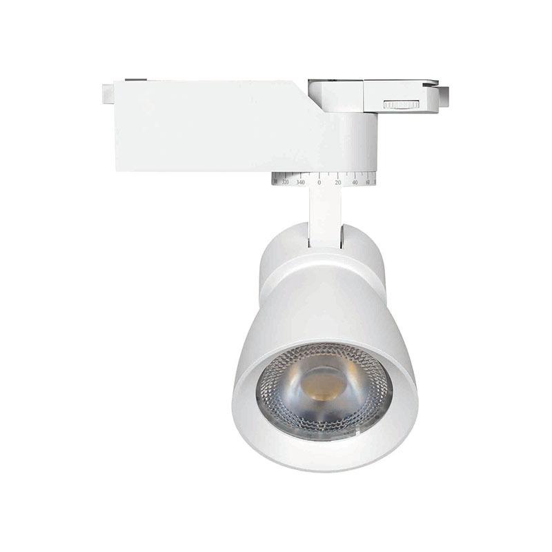 LED track light fixture 338201-2 MAX 35W