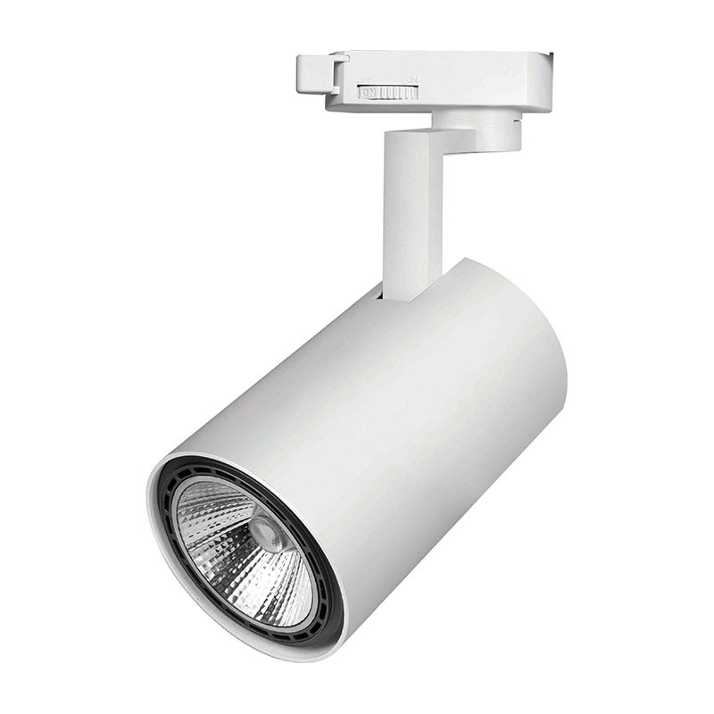 LED track light family with LED lamp (PAR20/PAR30/GU/GU5.3)
