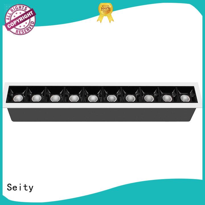 recessed adjustable led downlights lights antiglare Seity Brand